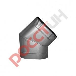 Отвод эллипс 45° (сапог)